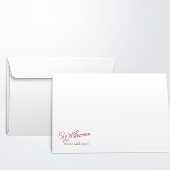 Umschlag mit Design Taufe - Kleiner Sonnenschein