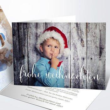 Weihnachtskarten - Weihnachtsfrohsinn