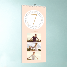 fotokalender runde monate detail. Black Bedroom Furniture Sets. Home Design Ideas