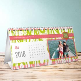 fotokalender buntes jahr tischkalender detail. Black Bedroom Furniture Sets. Home Design Ideas