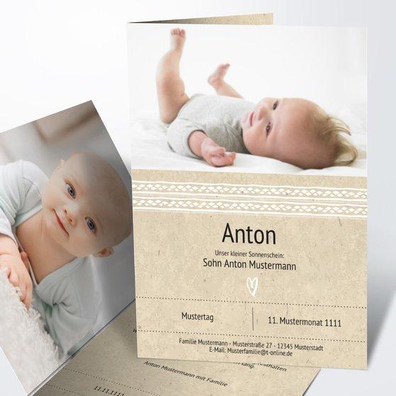 Geburtskarten - Muckelchen