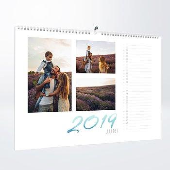 Fotokalender - Schwungvolles Jahr
