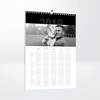 Fotokalender - 12 elegante Monate Familienplaner