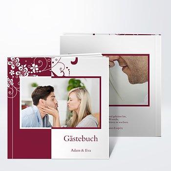 Gästebuch Hochzeit - Garten der Träume