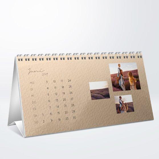 Fotokalender - Jahreswechsel Tischkalender
