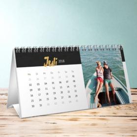 fotokalender goldenes kalendarium tischkalender detail. Black Bedroom Furniture Sets. Home Design Ideas