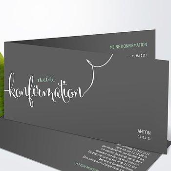 Konfirmationskarten - Fabelhafter Tag  Konfirmation