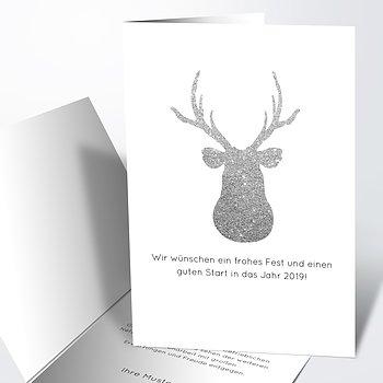 Weihnachtskarten Geschäftlich - Wilde Weihnacht