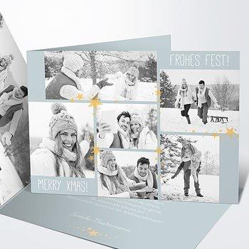Weihnachtskarten - Weihnachtssternchen