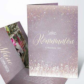 Kommunionskarten - Zauberlicht Kommunion