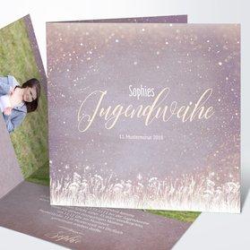 Einladungskarten Zur Jugendweihe Vorlagen Design