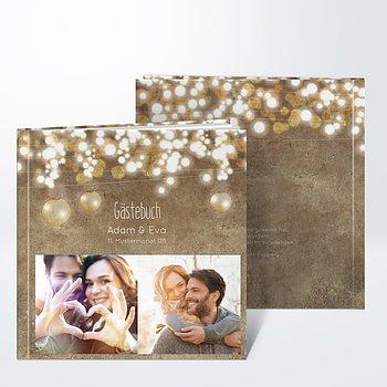Gästebuch Hochzeit - Luminaria