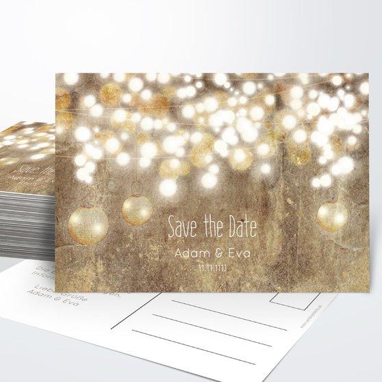 Save the Date - Luminaria
