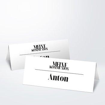 Tischkarten Kommunion - Das große Ereignis Kommunion