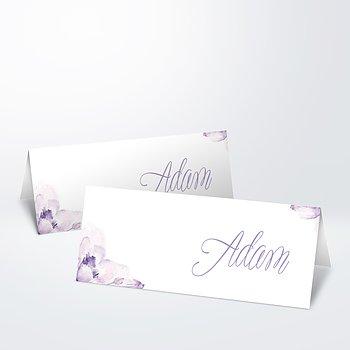 Tischkarten Hochzeit - Blütenpracht