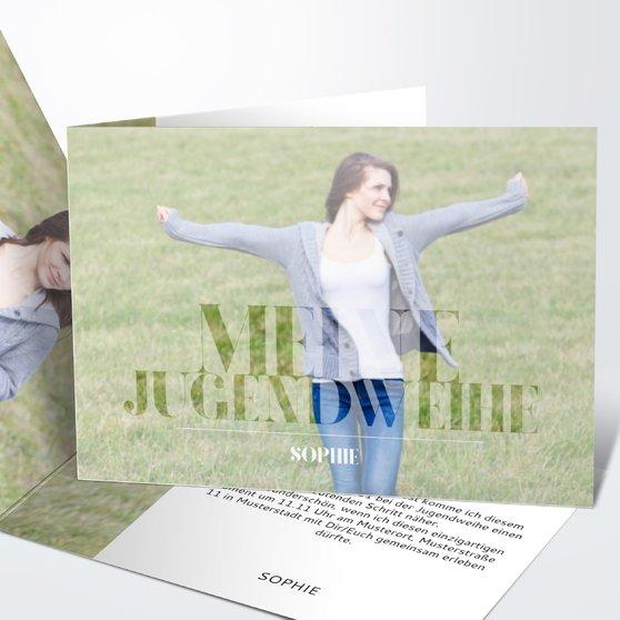 Jugendweihe Karten - Das große Ereignis Jugendweihe