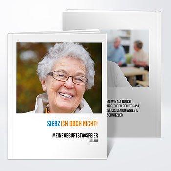 Fotobuch Geburtstag   Siebzich