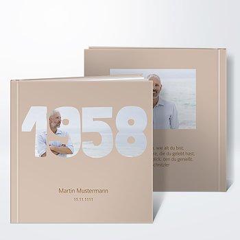 Gästebuch Geburtstag - Jahrgang 1958