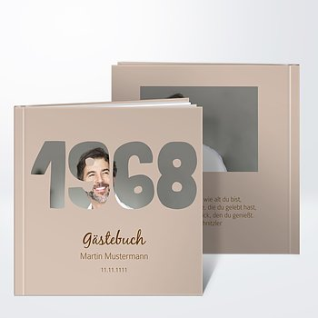 Gästebuch Geburtstag - Jahrgang 1968