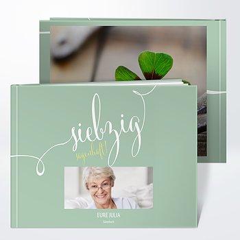 Gästebuch Geburtstag - Sagenhafte Siebzig