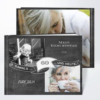 Fotobuch Geburtstag - Jahrestafel 60