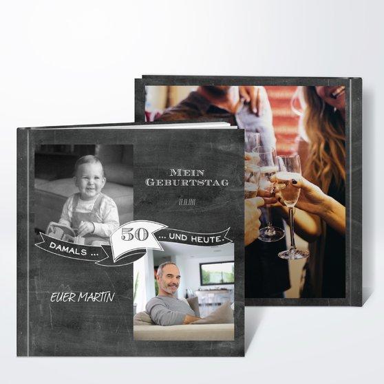 Fotobuch geburtstag jahrestafel 50 detail - Fotobuch ideen ...