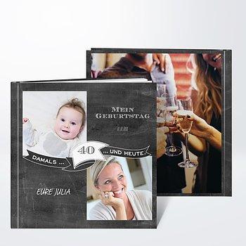 Fotobuch Geburtstag - Jahrestafel