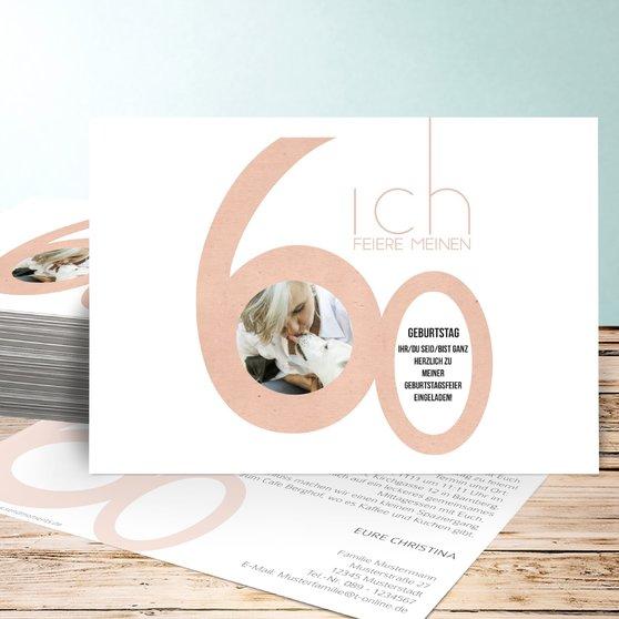 Einladung 6 Geburtstag: Geburtstagseinladungen Tolle Nummer 60 Detail