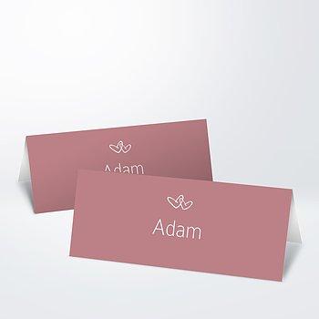 Tischkarten Hochzeit - Herzklopfen