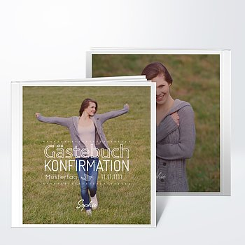Gästebuch Konfirmation - Konfirmationswimpel