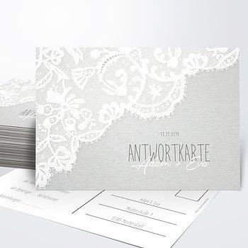 Antwortkarte - Pastellspitze