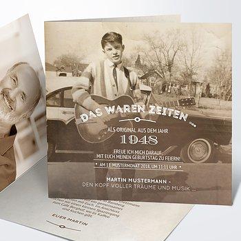 Einladungskarten 70 geburtstag selbst gestalten - Ideen zum 70 geburtstag ...