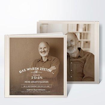 Schön Fotobuch Geburtstag   Alte Zeiten 70