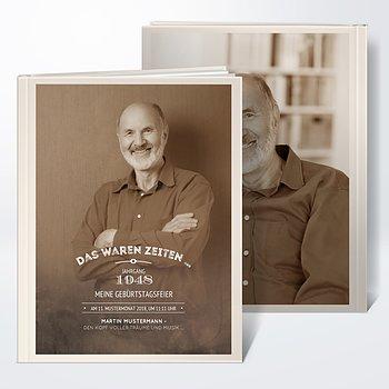 Fotobuch Geburtstag   Alte Zeiten 70