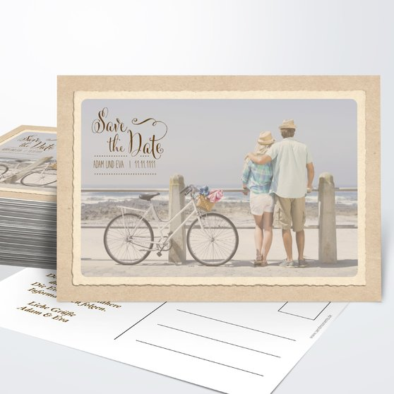 Save the Date - Romantische Post