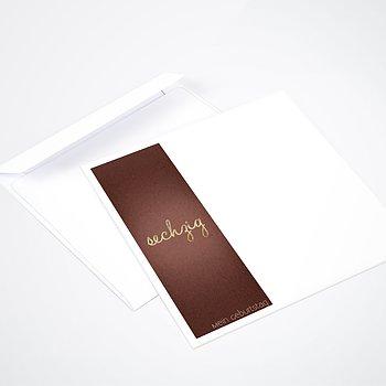 Umschlag mit Design Geburtstag - Goldener Tag 60
