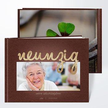 Fotobuch Geburtstag - Goldener Tag 90