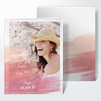 Gästebuch Geburtstag - Plan B
