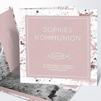 Kommunionskarten - Kommunions-Impression