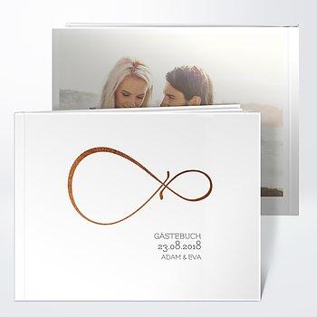 Gästebuch Hochzeit - Unendlich