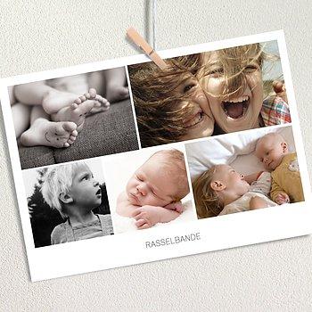 Fotodrucke MP - Fotokarten A6 Collage