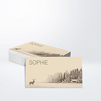 Geschenkaufkleber - Der Elch