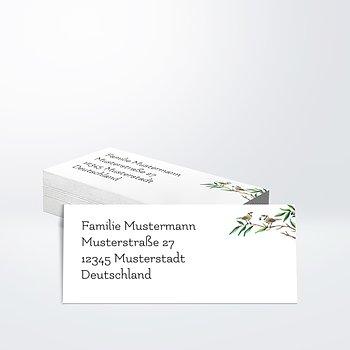 Adressaufkleber  Hochzeit - Liebesnest