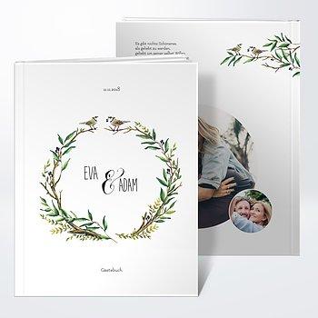 Gästebuch Hochzeit - Liebesnest