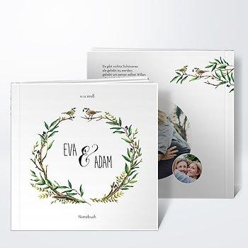 Notizbuch Hochzeit - Liebesnest