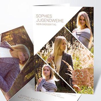 Jugendweihe Karten - Traumtag