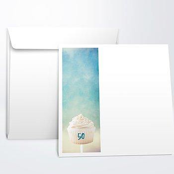 Umschlag mit Design Geburtstag - Coloria