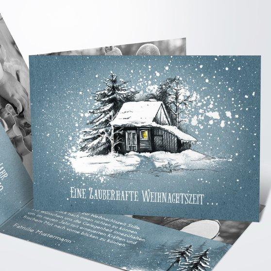 Weihnachtskarten - Stille Zeit