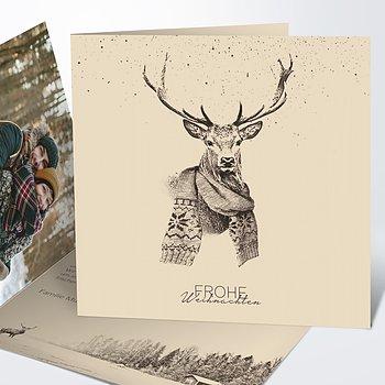 Weihnachtskarten - Der Elch