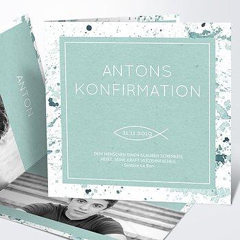 Konfirmationskarten - Konfirmations-Impression